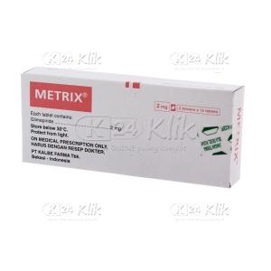 METRIX 2MG TAB