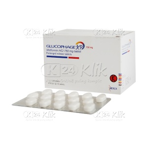 GLUCOPHAGE XR 750MG TAB 120S