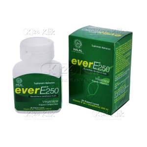 EVER E 250MG SOFT CAP