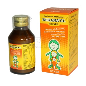 ELKANA CL EMULSION ORANGE 120ML