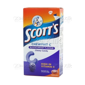 SCOTTS CHEWABLE BLACKCURRANT
