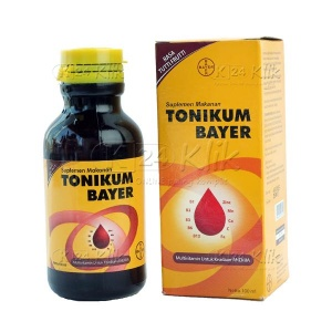 JUAL TONIKUM BAYER 100ML