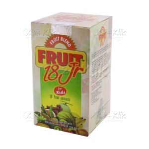 FRUITBLEND 18 JR BTL 60S