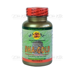 SEA Q DHA GOLD 200MG 50S