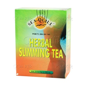 SEA Q HERBAL SLIMMING TEA DOS 24'S