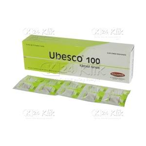 JUAL UBESCO 100MG SOFT CAP 50'S/DOS