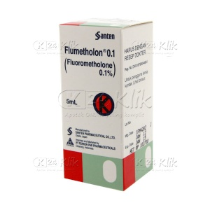 FLUMETHOLON 0,1% EYE DROP 5ML