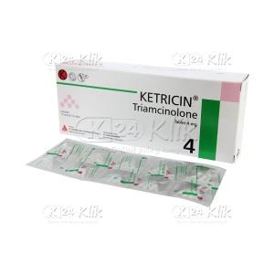 KETRICIN 4MG TAB