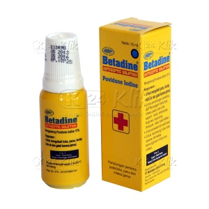 BETADINE SOL 15ML