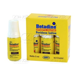 BETADINE SOL 5ML