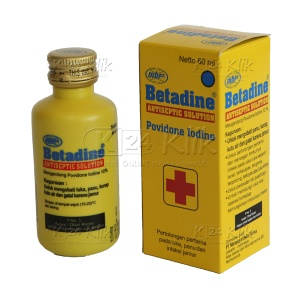 BETADINE SOL 60ML