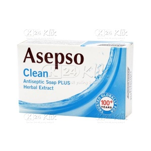 ASEPSO CLEAN SOAP 85G
