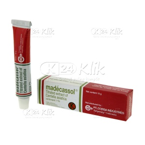 MADDECASSOL 1% OINT 10G