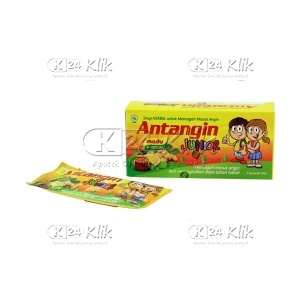 ANTANGIN CAIR JUNIOR HONEY MINT SACH 5S
