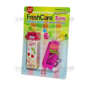 FRESH CARE TEENS HAPPY CHERRY 10ML (BANDED)