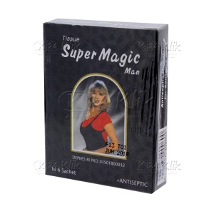 JUAL TISSUE SUPER MAGIC MAN