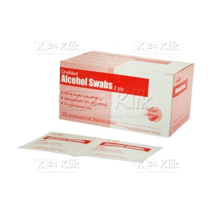ONE MED ALCOHOL SWAB