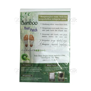 JUAL BAMBOO FOOT PATCH