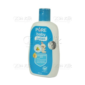 JUAL PURE BABY LOTION 200ML