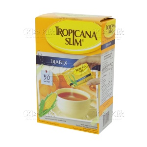TROPICANA SLIM DIABETICS 50 SACH