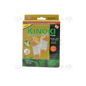KINOKI GOLD CLEANSING DETOX FOOT PAD 10S