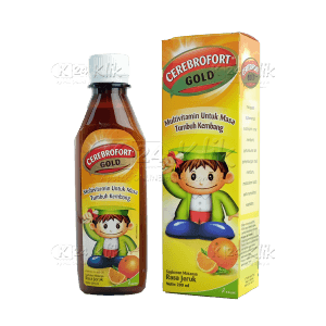 CEREBROFORT GOLD JERUK 200ML