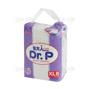 DR.P ADULT DIAPERS XL8 BASIC TYPE