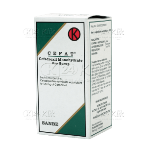 CEFAT DRY SYR 60 ML 125MG/5ML