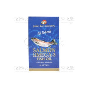 JUAL GOLDEN BEAR SALMON OMEGA CAP 100S