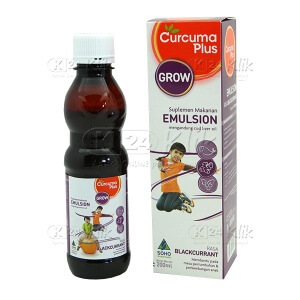 CURCUMA PLUS EMULSION BLACKURRANT 200 ML
