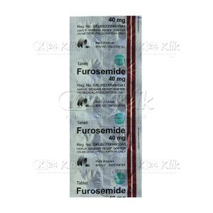 FUROSEMIDE IF 40 MG TAB