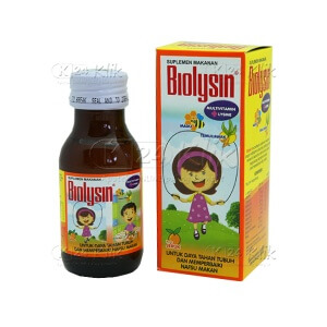 BIOLYSIN SYR 60 ML