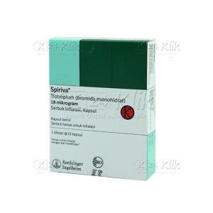 SPIRIVA REFILL INHALASI 18MCG 10'S