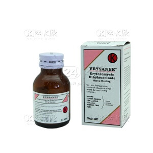 ERYSANBE 200MG/5 ML D SYR 60 ML