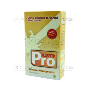PRO PLUS SUSU KEDELAI FULL CREAM 200G