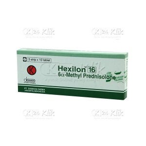 HEXILON 16MG TAB