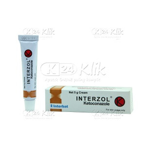 JUAL INTERZOL 2% CR 5G