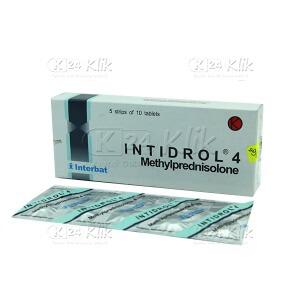 INTIDROL 4 MG TAB