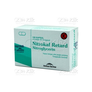 NITROKAF RETARD 2,5 MG CAPS