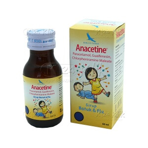 ANACETINE SYR 60 ML