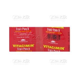 VITACIMIN FRUIT PUNCH STRIP 2S