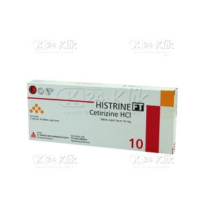 JUAL HISTRINE FT 5MG TAB 30'S