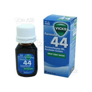 VICKS F44 DWS SYR 27ML