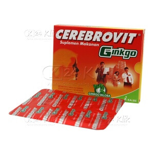 CEREBROVIT GB TAB STR 10S