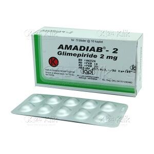 AMADIAB 2MG TAB
