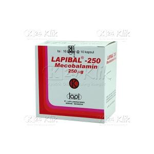 LAPIBAL 250MG CAP