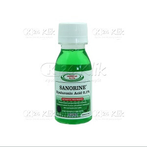 SANORINE MOUTHWASH HIJAU 0,1 % 80ML