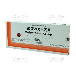 MOVIX 7,5MG TABLET 20'S