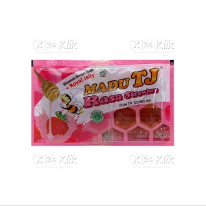 MADU TJ RASA STRAWBERRY + ROYAL JELLY 12S
