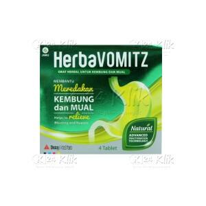HERBAVOMITZ TAB STR 4S